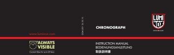 CHRONOGRAPH - Richard Solo