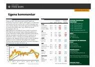 Ugens kommentar - Jyske Bank