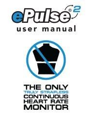 ePulse2™ User Manual - Richard Solo
