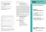 System des Umwandlungssteuerrechts - Deutsches Anwaltsinstitut eV