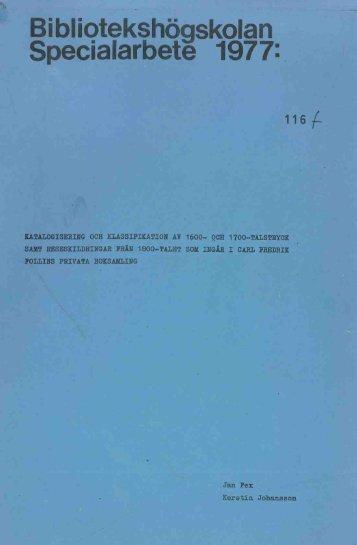 1977 nr 116.pdf - BADA - Högskolan i Borås