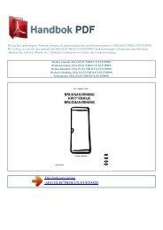 Bruker manual AEG-ELECTROLUX EUF2900X - HANDBOK PDF