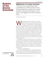 Bulletin of the Atomic Scientists - Belfer Center for Science and ...