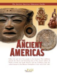 The Ancient Americas Educator Guide - The Field Museum