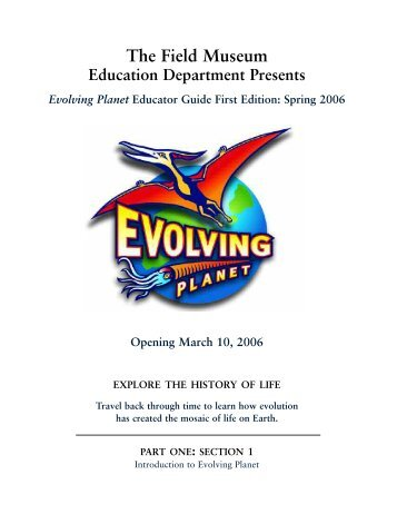 Evolving Planet - The Field Museum