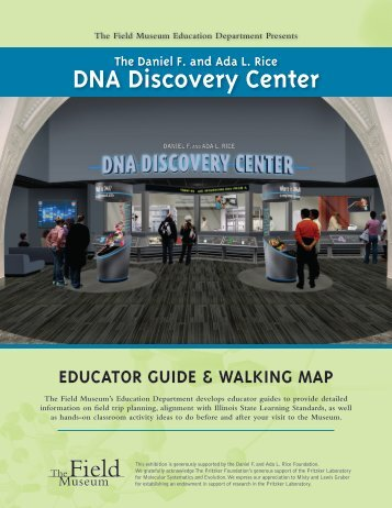 DNA Educator Guide - The Field Museum
