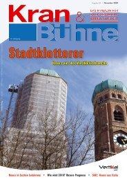 Kran & Bühne, November 2009: Titel