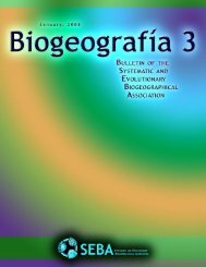 ·Biogeografía 3 ·January, 2008 ·Page 1 · - John Grehan :: Home