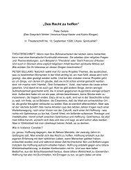 """""""Das Recht zu hoffen"""" - Diskurs Festival"""