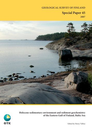 GEOLOGICAL SURVEY OF FINLAND Special Paper ... - arkisto.gsf.fi