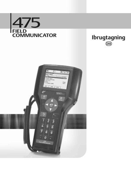 475 Field Communicator Getting Started Guide Danish