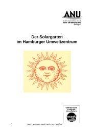 Der Solargarten im Hamburger Umweltzentrum - ANU Hamburg