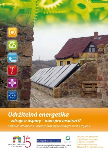 Udržitelná energetika – zdroje a úspory – kam pro ... - DataPlán