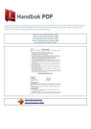 Bruker manual DELONGHI IC 8000 - HANDBOK PDF