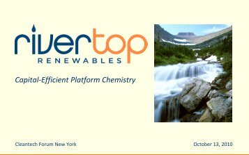 Jim Stoppert, Rivertop Renewables - Upcoming Forums and Events
