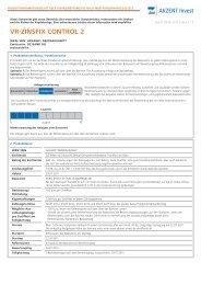 VR-ZINSFIX CONTROL 2 - Vwd Vereinigte Wirtschaftsdienste AG