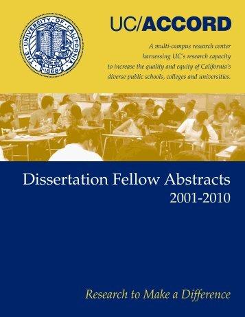 UCB, Education - UC/ACCORD - UCLA