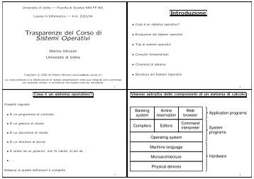 unico file PDF - Dipartimento di Matematica e Informatica