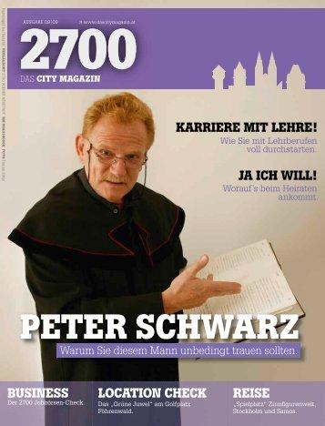 PETER SCHWARZ - das City Magazin