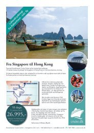 Fra Singapore til Hong Kong