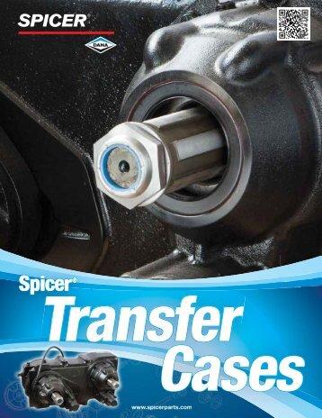 Spicer transfer cases