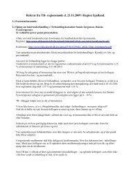 Referat fra TR-regionsmøde d - Danske Fysioterapeuter