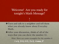 Everyday Math PDF 3-5 - Noblesville Schools