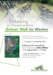 Grüner Wall im Westen - BUND Landesverband Rheinland-Pfalz
