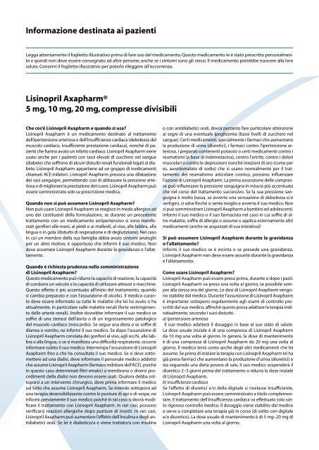 lisinopril hctz impotenza effetti collaterali