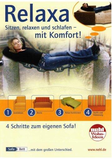 tzen; relaxen und schlafen —