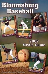 2007 Media Guide - Bloomsburg University