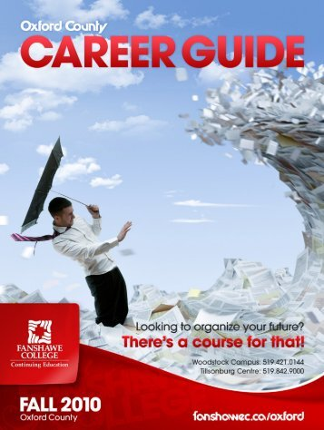 How To Read Your Course Guide - Fanshawe College