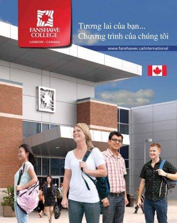 Tương lai của bạn... Chương trình của chúng tôi - Fanshawe College