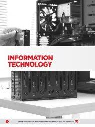 INFORMATION TECHNOLOGY - Fanshawe College
