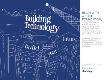 Building Technology - Fanshawe College