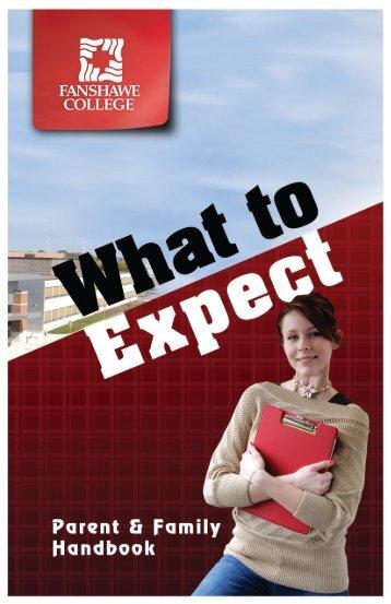 Parent Handbook - Fanshawe College