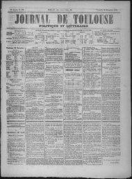 21 Novembre 1873 - Bibliothèque de Toulouse