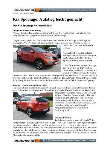 Kia Sportage 2010 - Report Autonet.at - Heim