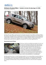 Kia Sportage 2010 - Report Auto.de - rastundruh.heim.at