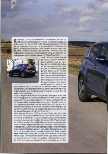 Artikel Kia Sportage KiaInsider 2011-01 - Heim