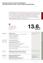 15.6. - Deutscher Anwaltverein
