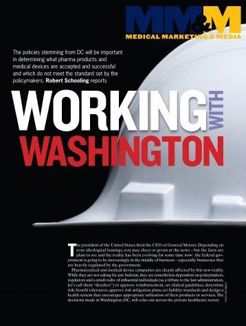 Working With Washington - APCO Worldwide
