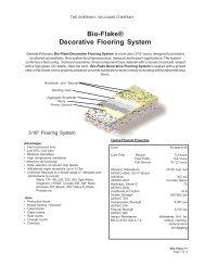 Bio-Flake® Decorative Flooring System - General Polymers