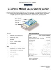 Decorative Mosaic - General Polymers