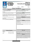 GP4772 Polyacrylate BlendinG Polymer - Page 2