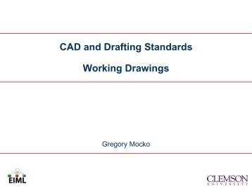 CAD and Drafting Standards