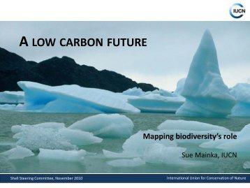 Achieving a low carbon future - IUCN