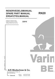 RESERVEDELSMANUAL SPARE PART MANUAL ...