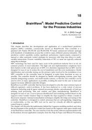 BrainWave : Model Predictive Control for the Process Industries