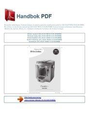 Bruker manual AEG-ELECTROLUX ELM5200BK - HANDBOK PDF
